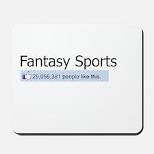 Like Fantasy Sports Mousepad