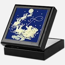 Santa Claus Sky Keepsake Box