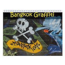 Bangkok Graffiti Wall Calendar
