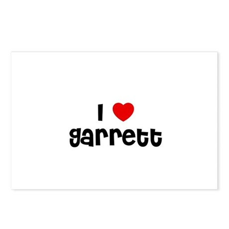 I * Garrett Postcards (Package of 8)