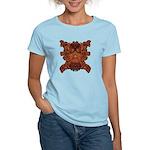 Purple Skull Women's Light T-Shirt