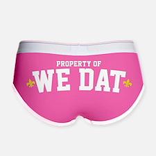 We Dat Property Women's Boy Brief