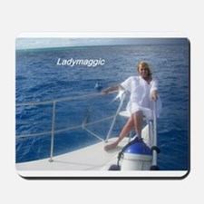 Ladymaggic Cruising Mousepad