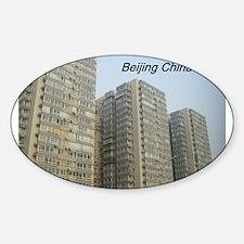 Beijing China Sticker (Oval)