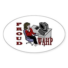 WAHM Oval Decal