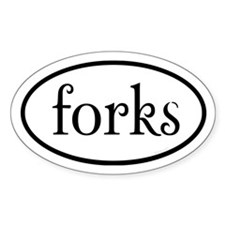Forks Euro Decal