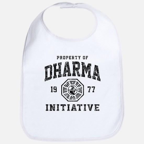 Dharma Faded Bib