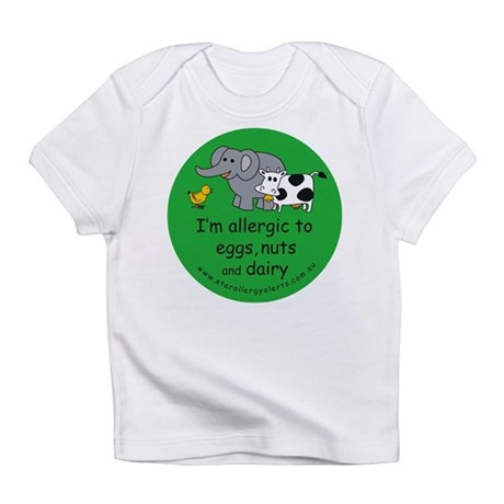 Eggs, nuts and dairy Infant T-Shirt