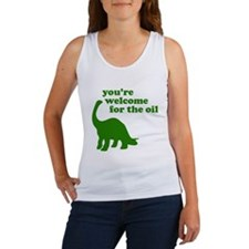 You're Welcome Oil Women's Tank Top