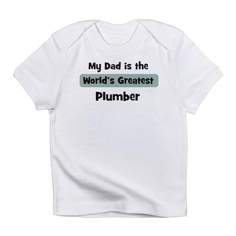 Worlds Greatest Plumber Infant T-Shirt