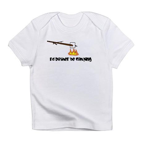 Camping, Roasting Marshmallow Infant T-Shirt