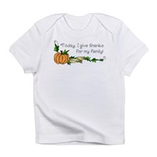 Give Thanks for Family Infant T-Shirt