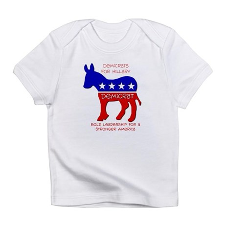 Demicrats for Hillary Infant T-Shirt