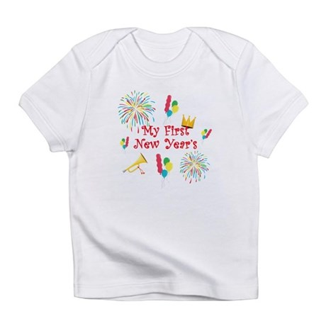 My First New Year's Infant T-Shirt