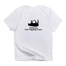 Vermont Cow Tipping Infant T-Shirt