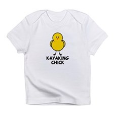 Kayaking Chick Infant T-Shirt