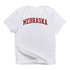 NEBRASKA (red) Infant T-Shirt