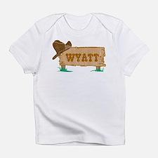 Wyatt western Infant T-Shirt