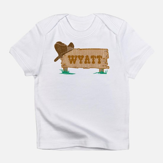 Wyatt western Infant T-Shirt