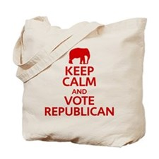 Keep Calm Republican Tote Bag
