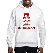 Keep Calm Republican Hoodie
