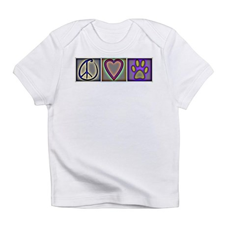 Peace Love Dogs (ALT) - Infant T-Shirt