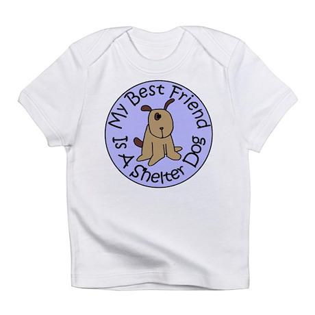 My Best Friend is a Shelter D Infant T-Shirt