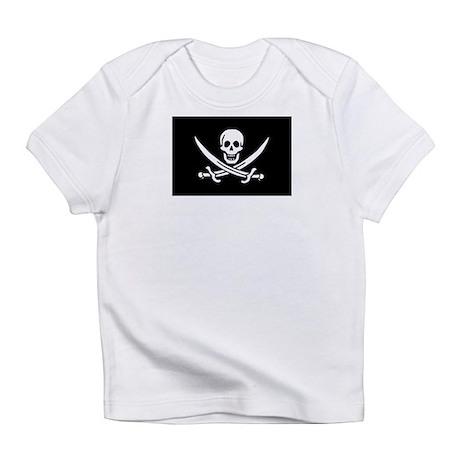 Pirate Baby Calico Jack Rackham Infant T-Shirt