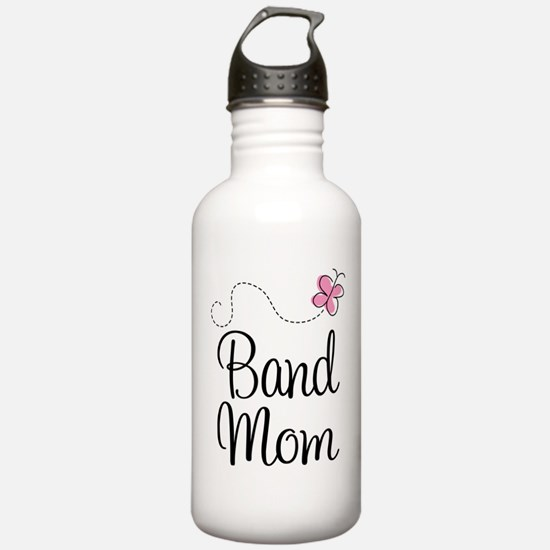 Cute Band Mom Sports Water Bottle