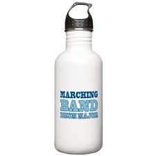 Blue Band Drum Major Sports Water Bottle
