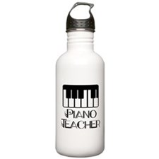 Piano Music Teacher Sports Water Bottle