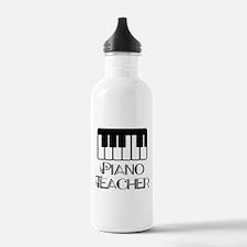 Piano Music Teacher Water Bottle