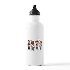 Fun Barbershop Quartet Sports Water Bottle