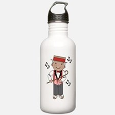 Funny Milestonesm Sports Water Bottle