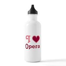 Opera Heart Sports Water Bottle