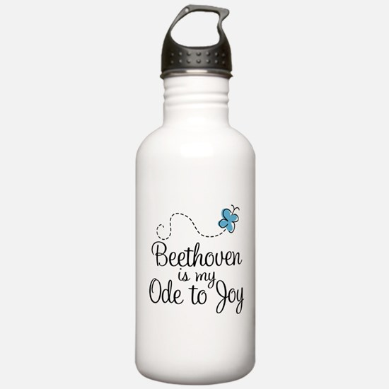 Beethoven Ode To Joy Sports Water Bottle