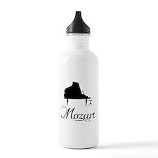 Piano Mozart Water Bottle