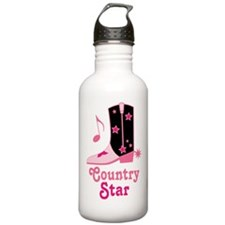 Country Star Water Bottle