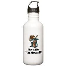 Play The Cello Sports Water Bottle