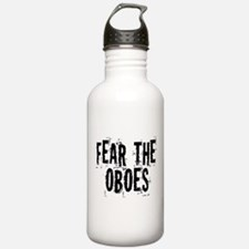 Funny Oboe Fear Water Bottle