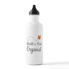 Worlds Best Organist Sports Water Bottle