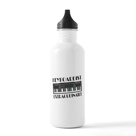 Keyboard Extraordinaire Stainless Water Bottle 1.0