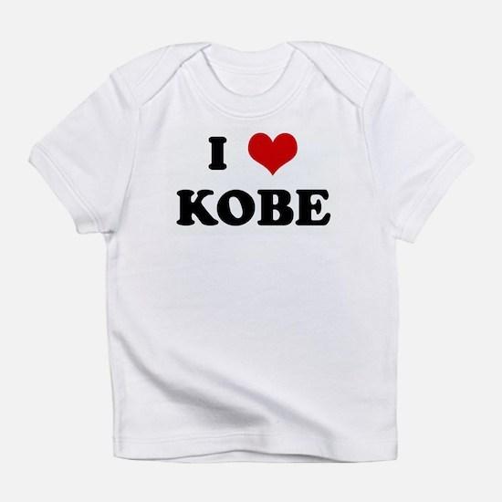 I Love KOBE Infant T-Shirt