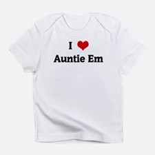 I Love Auntie Em Infant T-Shirt