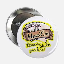 """Texas Hold'em 2.25"""" Button (100 pack)"""
