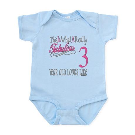 3rd Birthday Gifts Infant Bodysuit