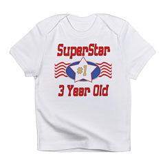 Superstar at 3 Infant T-Shirt