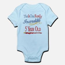 Incredible At 5 Infant Bodysuit