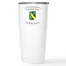 1st Bn 63rd Armor Travel Mug