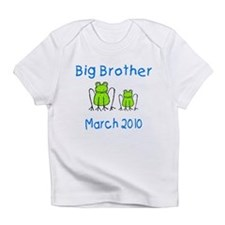 Big Brother Frogs March 2010 Infant T-Shirt